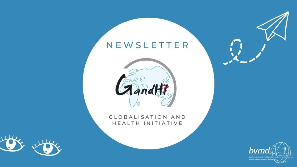 GandHI Global Health Newsletter Logo